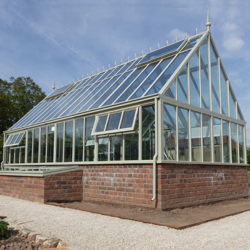 giant lean to greenhouse architecture for coffee-Wrought Iron ...