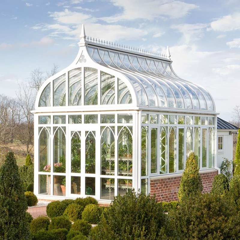 Custom Luxury Greenhouses, Garden Greenhouse Kits ...