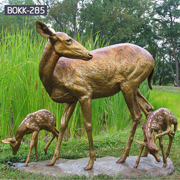 factory supply moose outdoor sculpture price for sale- Bronze ...