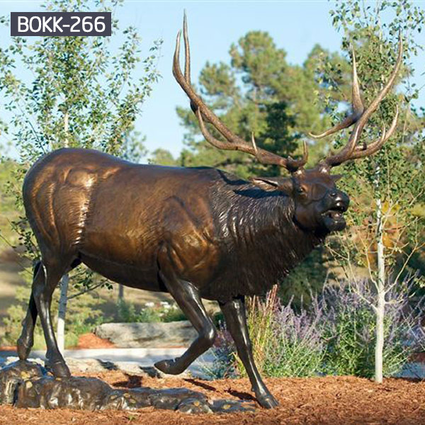 deer statues for garden-Bronze sculpture for sale