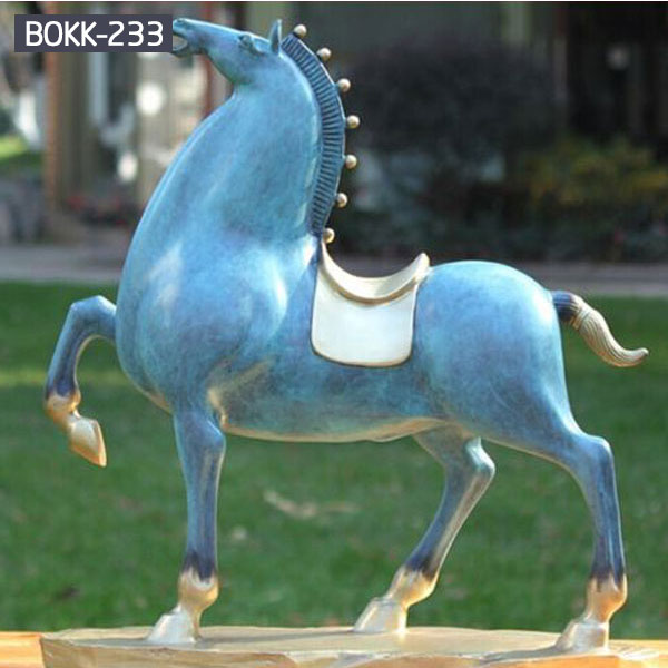 life size rearing horse statue for farm Amazon