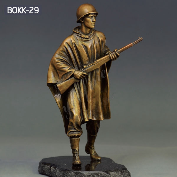 Outdoor Life Size Bronze Military Soldier Statue for Sale BOKK-29