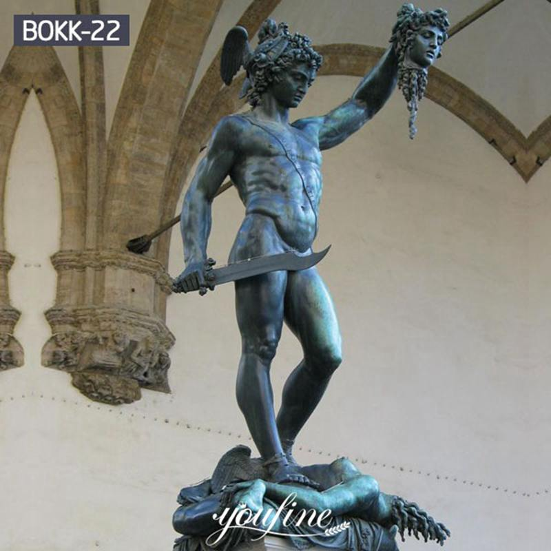 Classic Bronze Perseus with the Head of Medusa Statue for Sale BOKK-22 Details