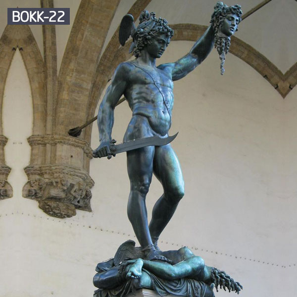 Classic Bronze Perseus with the Head of Medusa Statue for Sale BOKK-22