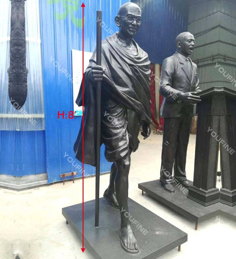 Bronze Mahatma Gandhi Sculpture for Sale