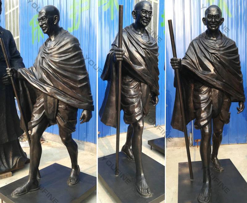 Bronze Mahatma Gandhi Sculpture