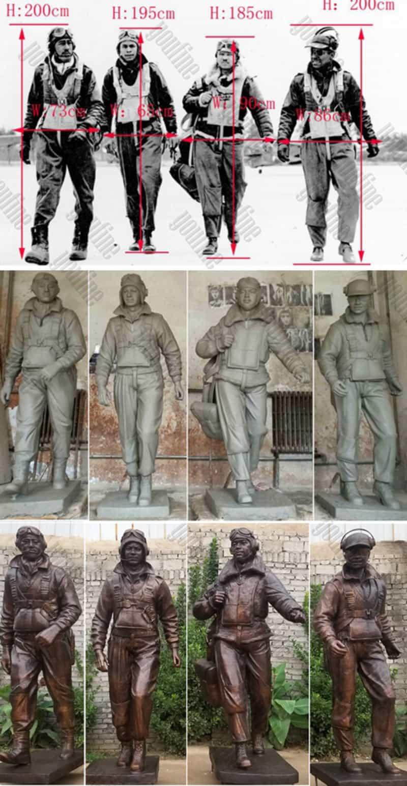 Tuskegee Airmen Statue (6)