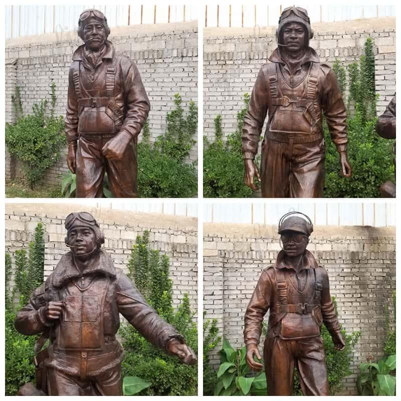 Tuskegee Airmen Statue (7)