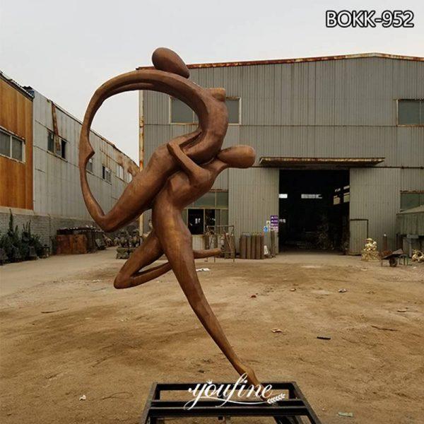 Full Size Bronze Dance of Desire Statue For Garden BOKK-952