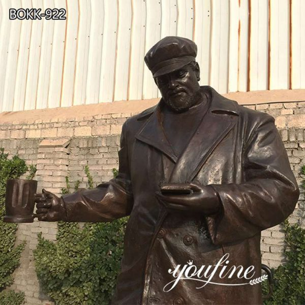 Life Size Custom Bronze Statue Outdoor Decor for Sale BOKK-922